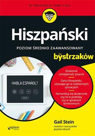 Okładka książki/ebooka Hiszpański dla bystrzaków. Poziom średnio zaawansowany