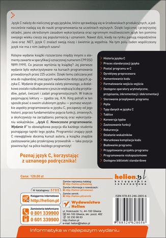Okładka książki Język C. Nowoczesne programowanie. Wydanie II