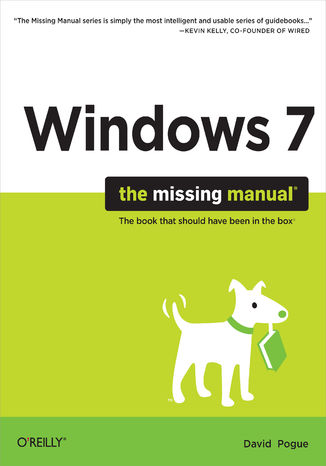 Okładka książki/ebooka Windows 7: The Missing Manual