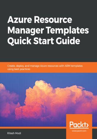 Okładka książki/ebooka Azure Resource Manager Templates Quick Start Guide
