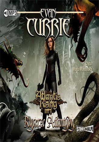 Okładka książki/ebooka Atlantis Rising Tom 1 Rycerze Atlantydy