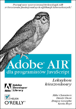 Okładka książki/ebooka Adobe AIR dla programistów JavaScript. Leksykon kieszonkowy