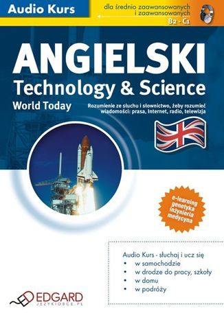 Okładka książki/ebooka Angielski World Today Technology and Science