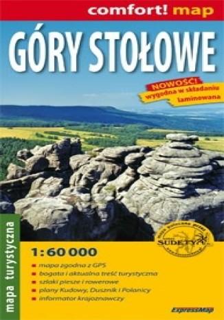 Okładka książki/ebooka Góry Stołowe mapa laminowana 1:60 000 ExpressMap
