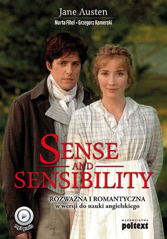 Okładka książki/ebooka Sense and Sensibility. Rozważna i Romantyczna w wersji do nauki angielskiego