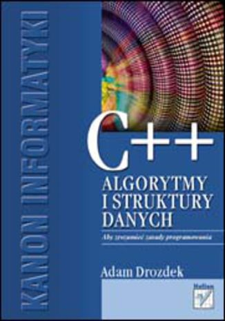 Okładka książki/ebooka C++. Algorytmy i struktury danych