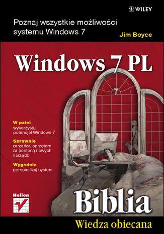 Okładka książki/ebooka Windows 7 PL. Biblia