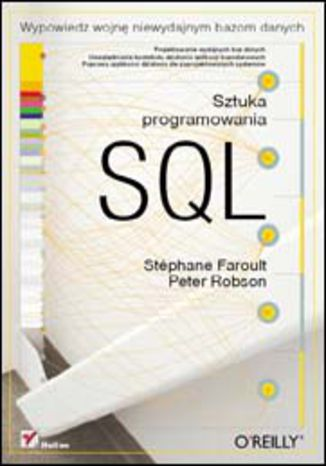 Okładka książki/ebooka SQL. Sztuka programowania