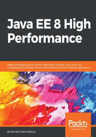 Okładka książki/ebooka Java EE 8 High Performance