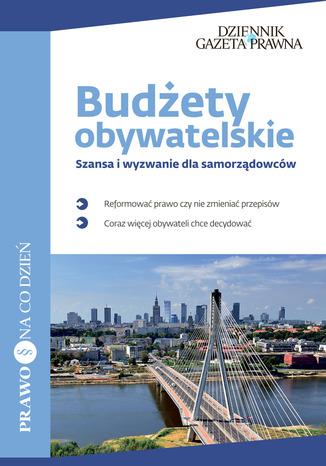 Okładka książki/ebooka Budżety obywatelskie