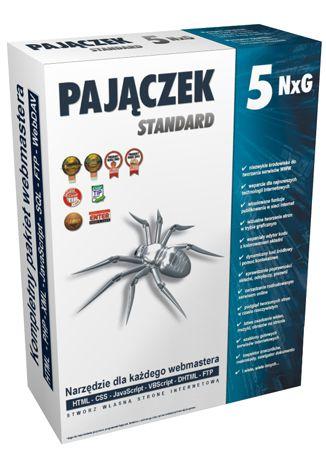 Pajączek 5 NxG Standard BOX (licencja, CD i instrukcja obsługi)