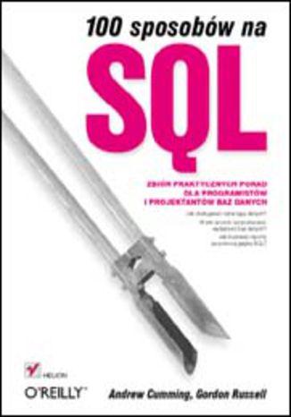 Okładka książki 100 sposobów na SQL
