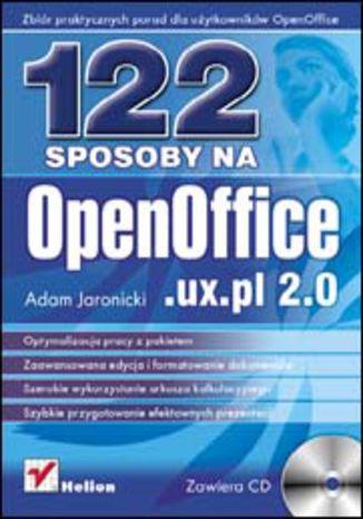 Okładka książki/ebooka 122 sposoby na OpenOffice.ux.pl 2.0