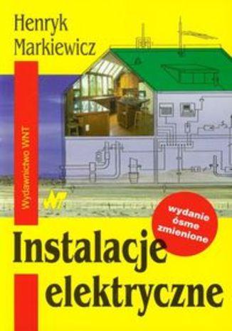 Okładka książki/ebooka Instalacje elektryczne