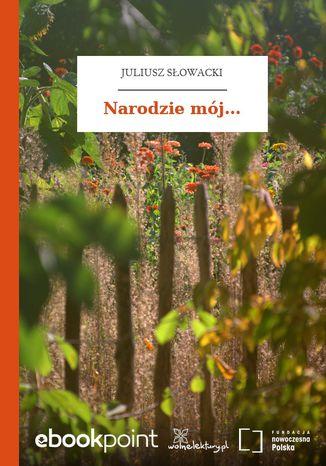 Okładka książki/ebooka Narodzie mój