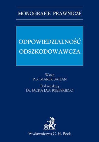 Okładka książki/ebooka Odpowiedzialność odszkodowawcza