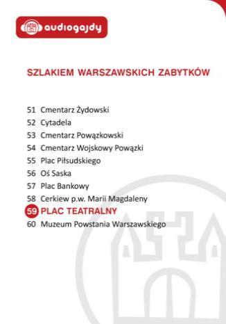 Okładka książki/ebooka Plac Teatralny. Szlakiem warszawskich zabytków