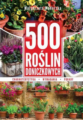 Okładka książki/ebooka 500 roślin doniczkowych