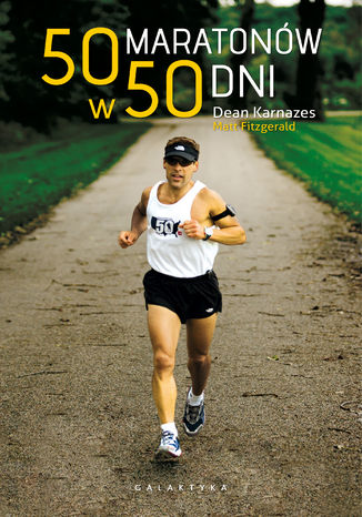 Okładka książki/ebooka 50 maratonów w 50 dni