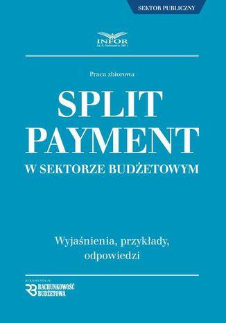 Okładka książki/ebooka Split Payment w sektorze budżetowym wyjaśnienia , przykłady , odpowiedzi
