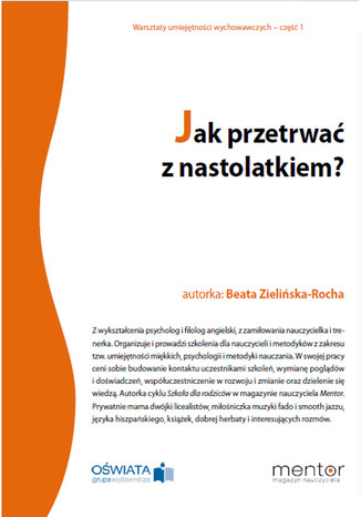 Okładka książki/ebooka Jak przetrwać z nastolatkiem?