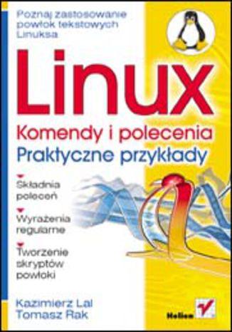 Okładka książki/ebooka Linux. Komendy i polecenia. Praktyczne przykłady