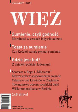 Okładka książki/ebooka Więź 1/2017