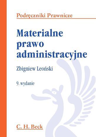 Okładka książki/ebooka Materialne prawo administracyjne