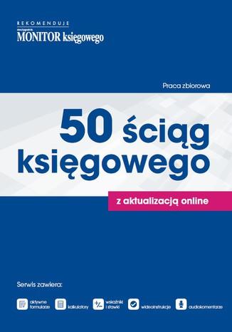 Okładka książki/ebooka 50 Ściąg Księgowego