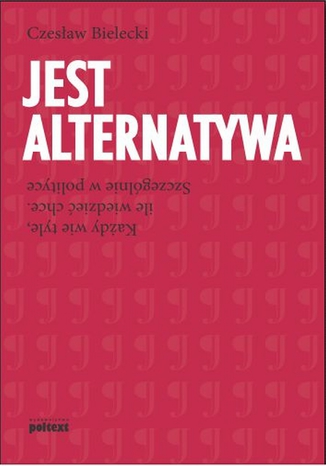 Okładka książki/ebooka Jest alternatywa