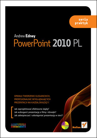 Okładka książki PowerPoint 2010 PL. Seria praktyk