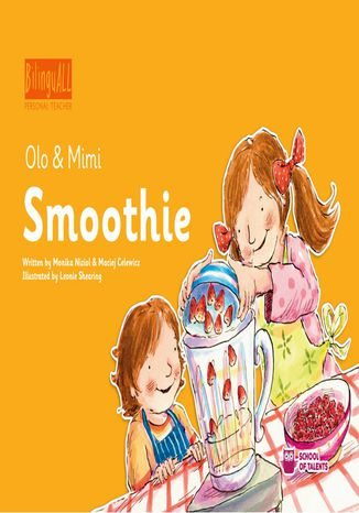 Okładka książki/ebooka Smoothie. Nauka angielskiego dla dzieci 2-7 lat