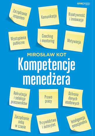 Okładka książki/ebooka Kompetencje menedżera