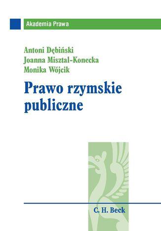 Okładka książki/ebooka Prawo rzymskie publiczne