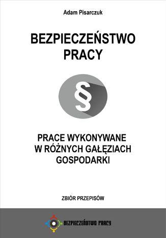 Okładka książki/ebooka Bezpieczeństwo pracy. Prace wykonywane w różnych gałęziach gospodarki. Zbiór przepisów