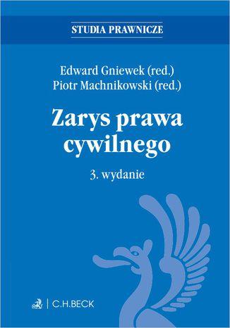 Okładka książki/ebooka Zarys prawa cywilnego. Wydanie 3