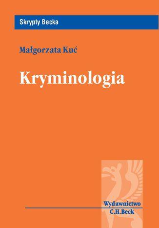 Okładka książki/ebooka Kryminologia