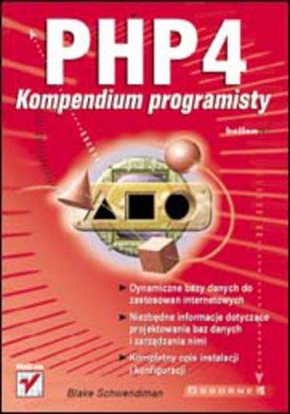 Okładka książki/ebooka PHP4. Kompendium programisty