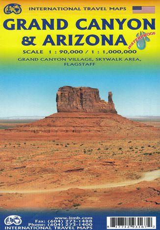 Okładka książki/ebooka Grand Canyon & Arizona, 1:90 000 / 1:1 000 000