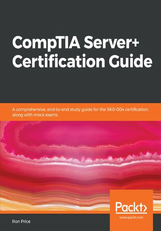 Okładka książki/ebooka CompTIA Server+ Certification Guide