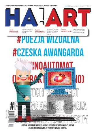 Okładka książki/ebooka Ha!art 42. Czeska i słowacka literatura nowomedialna