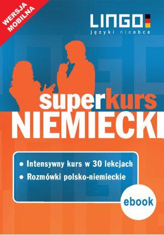 Okładka książki/ebooka Niemiecki. Superkurs (kurs + rozmówki)
