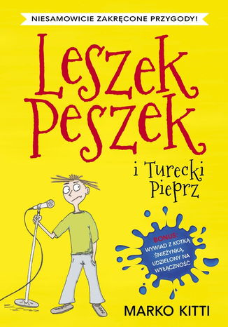Okładka książki/ebooka Leszek Peszek i Turecki Pieprz
