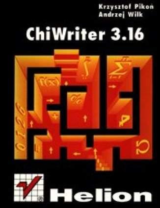 Okładka książki/ebooka ChiWriter 3.16