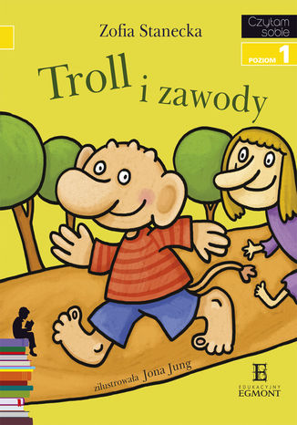 Okładka książki/ebooka Troll i Zawody