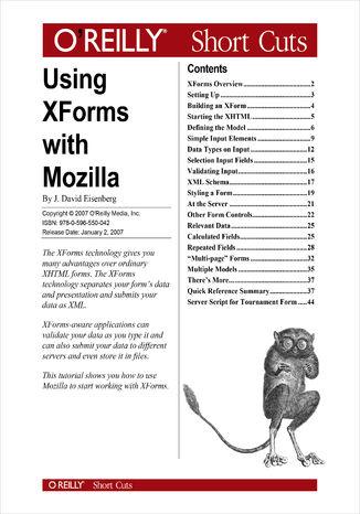 Okładka książki/ebooka Using XForms with Mozilla