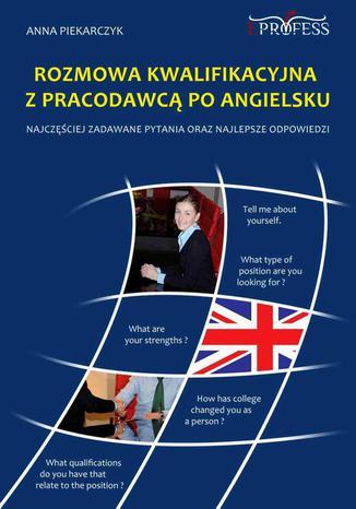 Okładka książki/ebooka Rozmowa Kwalifikacyjna z Pracodawcą Po Angielsku