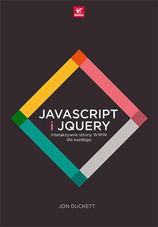 Okładka książki JavaScript i jQuery. Interaktywne strony WWW dla każdego