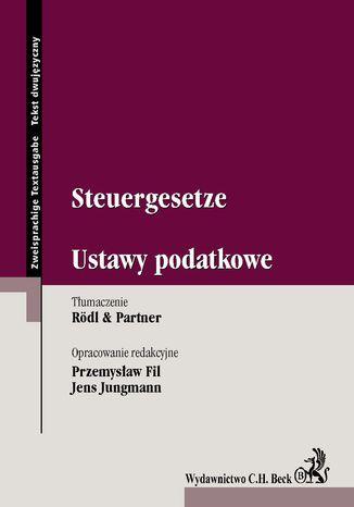 Okładka książki/ebooka Steuergesetze. Ustawy podatkowe