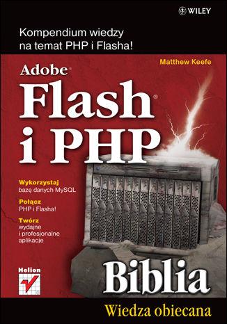 Okładka książki/ebooka Adobe Flash i PHP. Biblia